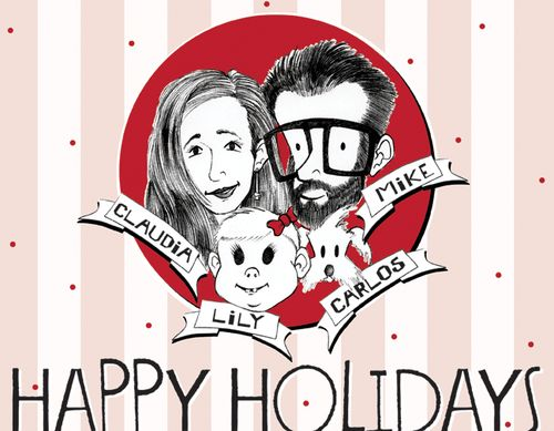 Happy holidays from the Windsor family